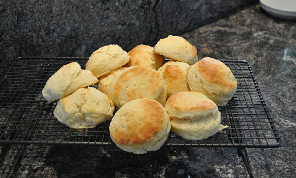 Quick and easy lemonade scones